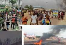 Prison Break: Nigeria protestors free prison inmates with brutal force