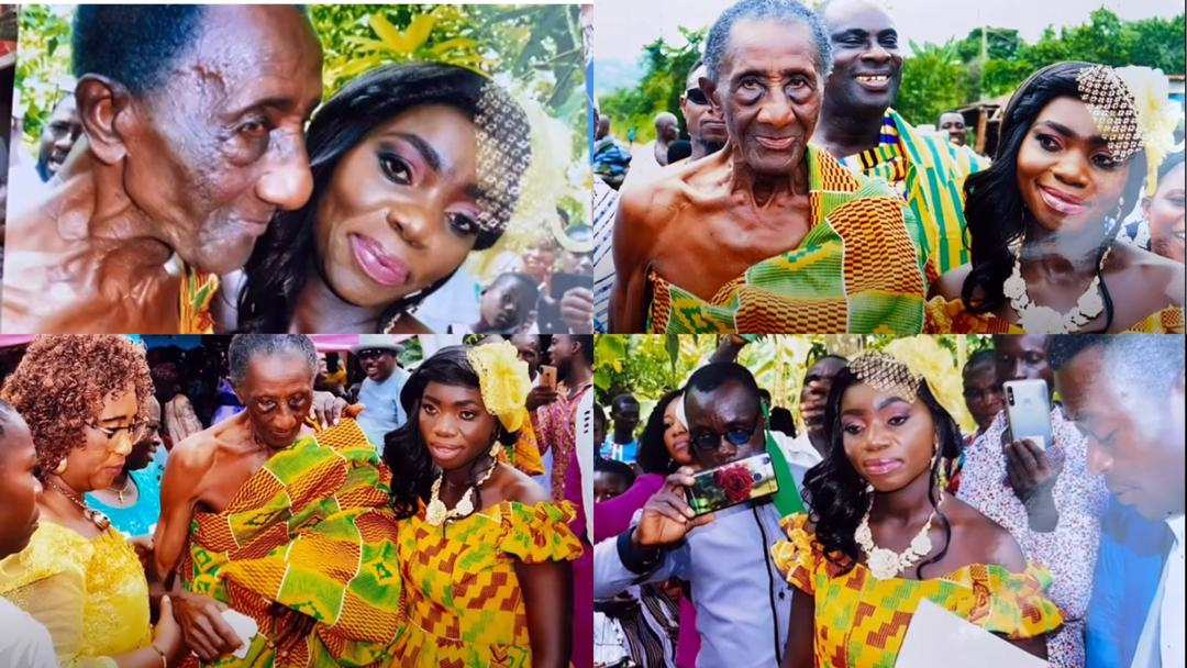 """""""I married my 97-year-old husband out of love & he makes me happy by satisfying me in bed"""" – 35-year-old woman [Video + Details]"""