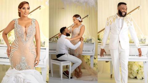Juliet Ibrahim sparks marriage rumours; reportedly gets married to Nigerian presenter