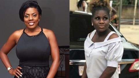 """""""It's either she had no home training or the devil lives in her"""" – Nana Aba Anamoah scolds Henewaa"""