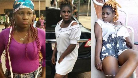Must-see Photos of Henewaa Piesie, the lady who called Selley Galley ugly and barren