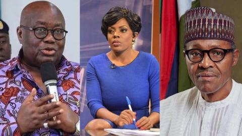 """Our president is not your president's father"" – Nana Aba Anamoah replies Nigerians attacking Prez. Akufo-Addo on social media"