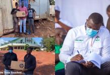 John Dumelo fulfils promise; begins to give out 4,000 laptops to selected tertiary students in constituency