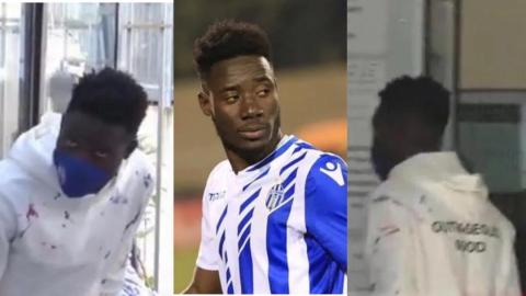 Ghanaian footballer Winful Cobbinah arraigned before Albanian court over document forgery claims