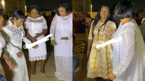 Tagoe Sisters And Ohemaa Mercy Joins Empress Gifty On The Dance floor At Her Startle Birthday Party