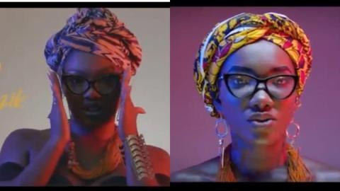 Fans React As Singer Iona Copies Ebony Head To Toe In Her New Music Video