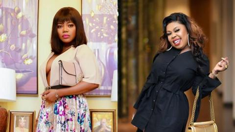 Afia Schwarzenegger Calls Out Mzbel, Says She Was Never Pregnant With Twins