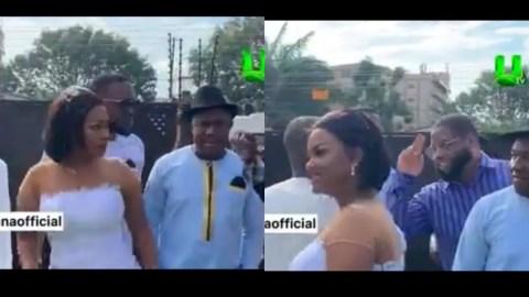 Nana Ama McBrown, DBlack And Others Shine At Ernest Ofori Sarpong's Daughter's Wedding