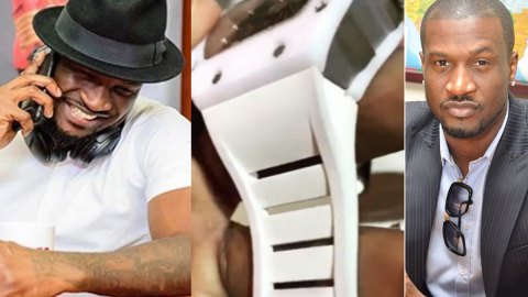 See Peter Okoye's Reaction After He Was Accused Of Wearing A Fake Richard Mille Watch