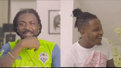 Fans Blast Samini For Claiming He Wanted To Sign Kelvyn Boy Before Stonebwoy Did