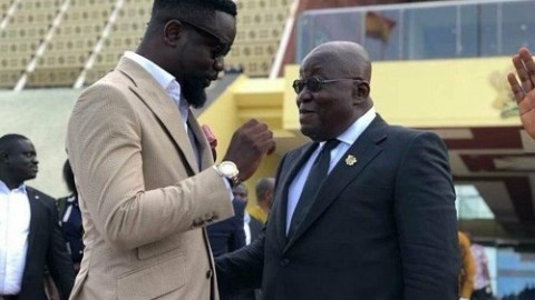 Sarkodie applauds Prez. Akufo-Addo and his government. See what he said about them