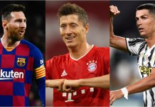 Full nominees' list of The Best FIFA Player of the Year Awards 2020