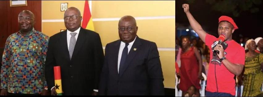 Ghanaians should pray for the Martin Amidu