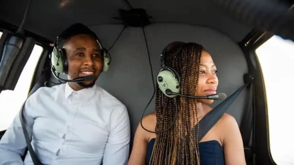 Proposal of The Year: Man Takes Girlfriend On A Helicopter Ride Moments Before Proposing to Her