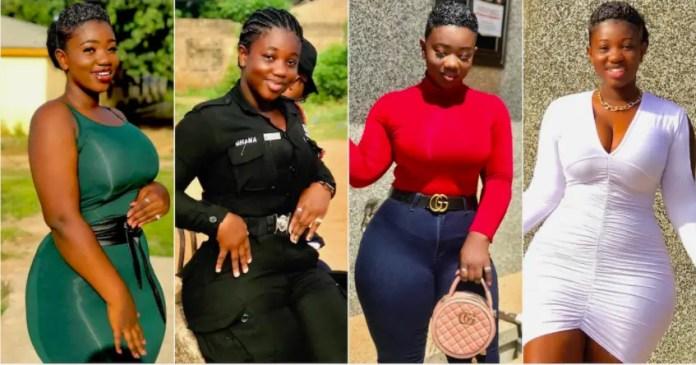 Ghana Most Beautiful Policewoman