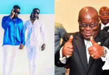 Prez Akufo-Addo reacts to Sarkodie's Happy Day song which had the rapper endorse him