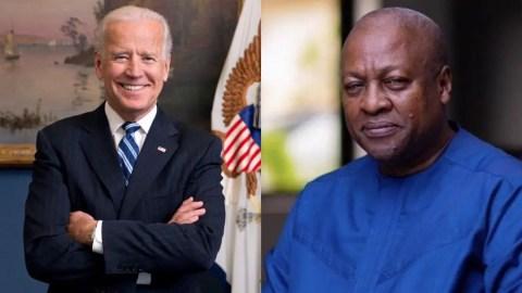 Ghanaians Blasts Mahama For Congratulating Joe Biden, Tells Him To Stop Dreaming Of Winning