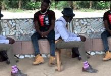 Stonebwoy on set with the hilarious Lil Win as the shoot Cocoa Season series [Video]