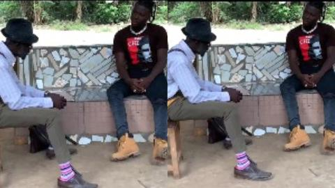 Stonebwoy on set with Lil Win as they shoot Cocoa Season series [Video]