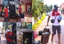 Black Stars arrive in Cape Coast to continue preparations for Sudan clash on Thursday
