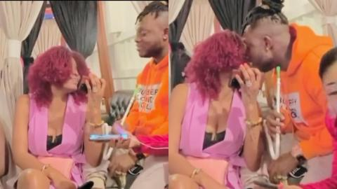 Keche Andrew And Millionaire Wife Come Back On Social Media With Their New Lovy Dovy Video