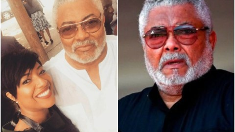 Check Out A Tall List Of Ghanaian Celebs Who Took Memorable Photos With JJ Rawlings When He Was Alive