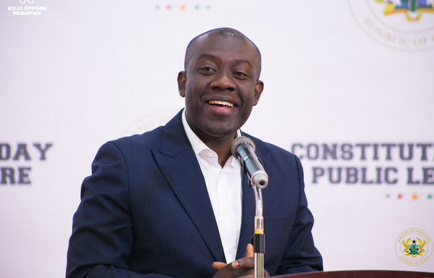 Kojo Oppong Nkrumah polled as the Best Performing Minister of 2020