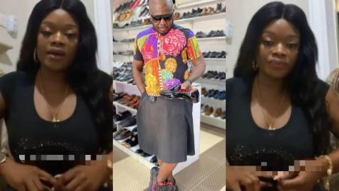 Osebo's Ex-wife Angry, Tells Him Not To Let Their Son, Wear Skirts As He Does – vIDEO