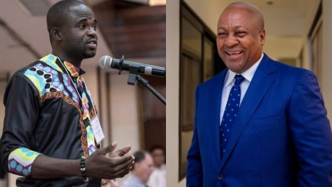 Don't Allow Yourself To Be Pushed To Soil Your Good Reputation If The Election Doesn't Go Your Way – Manasseh Advises John Mahama