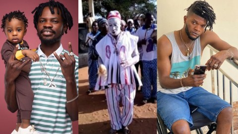 """(+VIDEO) Antoa """"gods"""" Summon Fameye After Ogidi Brown Reported Him For Duping Him Of 50,000 Dollars"""