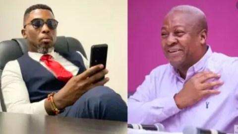 Ghana Election 2020: Mahama should concede defeat – Kwame A Plus boldly tells Mahama