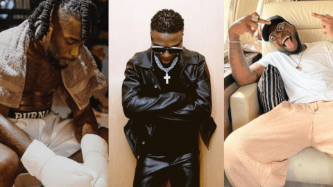 (Video): Wizkid Looks On Unbothered As Davido Was Being Whisked Away During The Brawl With Burnaboy