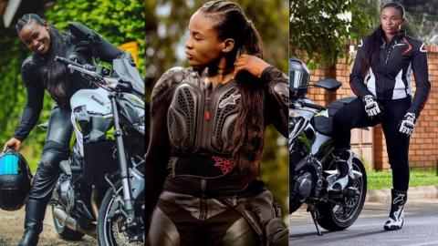 Meet Jessica Opare Saforo – Broadcast Journalist who doubles as a professional motorbike rider