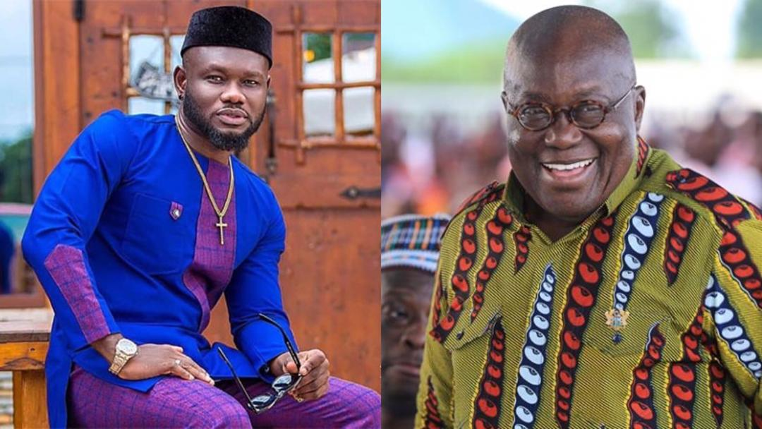 """""""You are a firm believer and advocate"""" – Prez. Akufo-Addo's birthday message to actor Prince David Osei"""