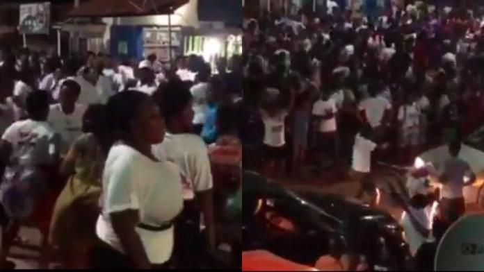 Watch: NPP supporters jam to Mahama-NDC campaign song