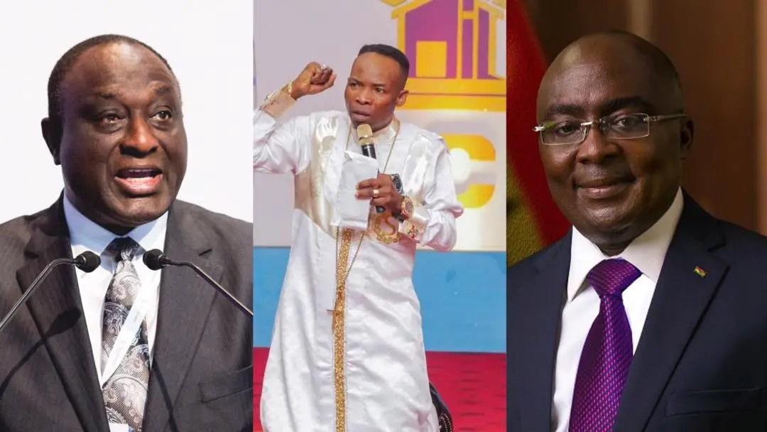 """NPP will be led by Alan Kyeremanten in 2024"" – Prophet Salifu-Amoako's prophecy goes against Bawumia"