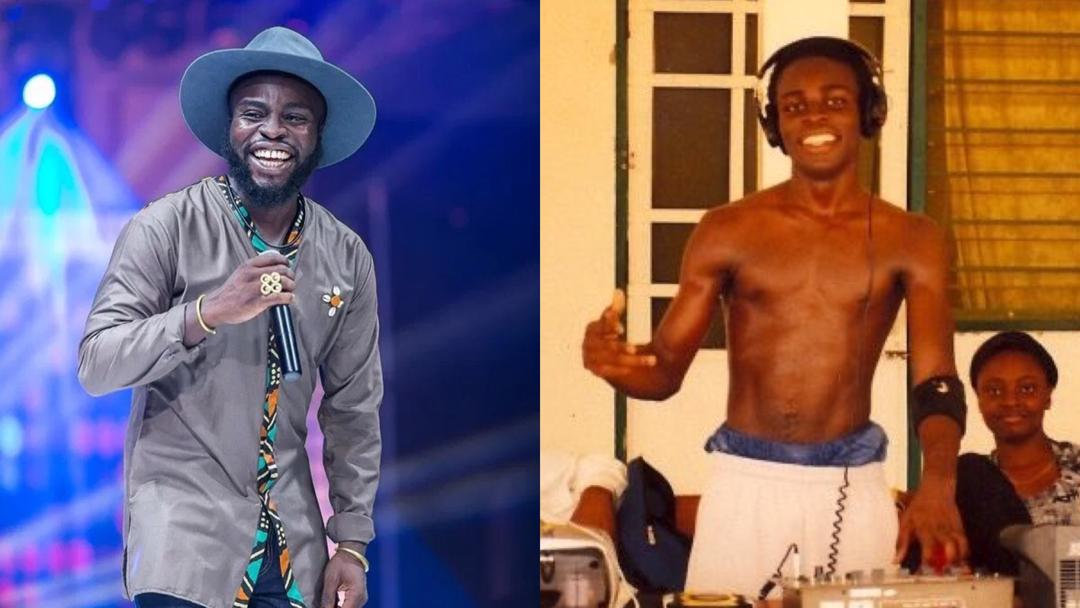 Rapper M.anifest shares throwback photo of his high school days