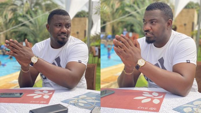 Actor John Dumelo gives savage reply to fan who asked why he does not have his wedding ring on