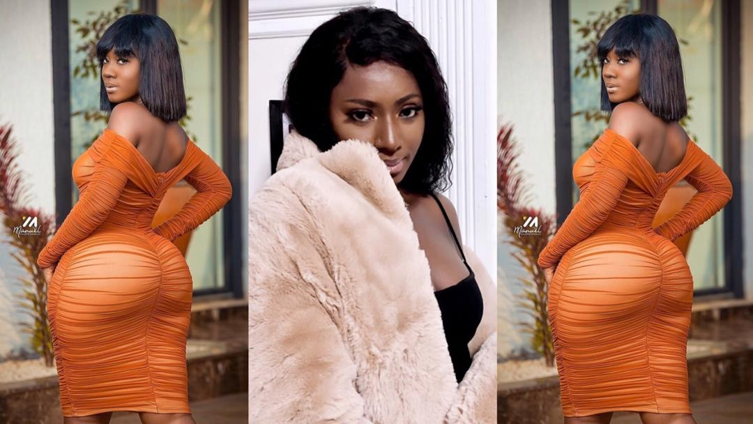 """I can't believe Hajia Bintu has made a career off having a big backside. Men are simple-minded"" – Disappointed lady says"