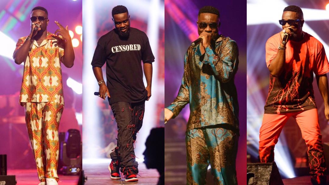#Rapperholic2020: How Sarkodie stole the show with his eye-catching dress style [Photos]