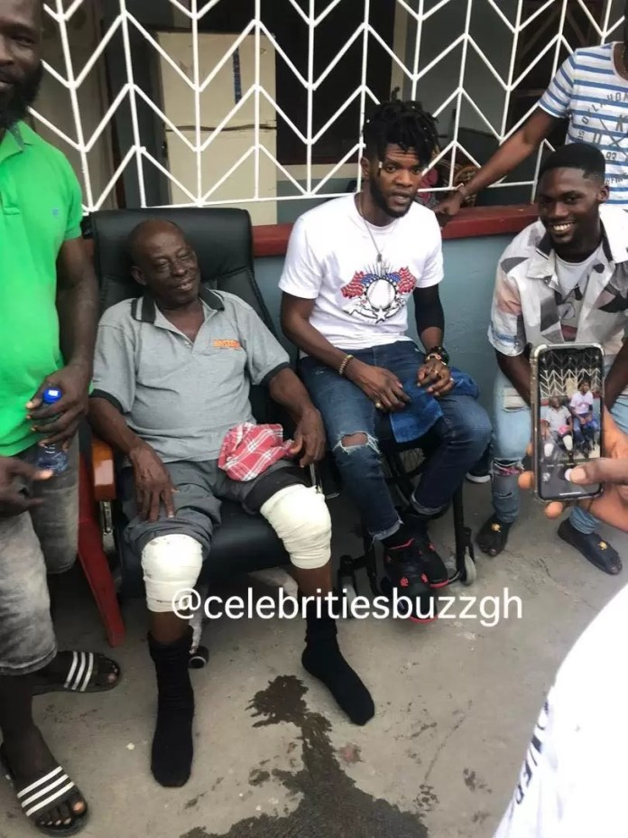 Fameye and former boss, Ogidi Brown face-off at Antoa; tells elders plans to pay the $50,000 3
