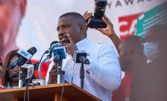 John Dumelo demand for recount of ballots in the Ayawaso West Wuogon constituency