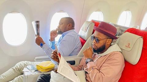 Kalybos Reacts To People Bashing Him And Other Celebrities For Campaigning Against John Dumelo In His Constituency