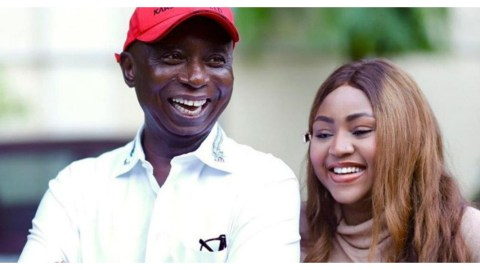 Fans Of Regina Daniels Take To The Street To Protest Strongly Against Ned Nwoko In Marrying Another Wife (Video)
