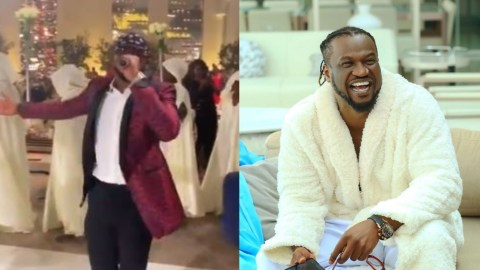Watch The Moment Rudeboy Performs P-Square's 'Beautiful Onyinye' For Daughter Of The President Of Equatorial Guinea