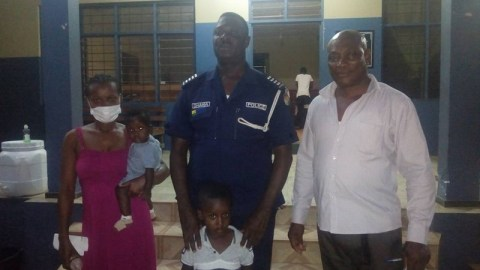 4-Year Old Ghanaian Boy Reports Mother To Police For Trying To 'Kill' His Younger Brother-Photos