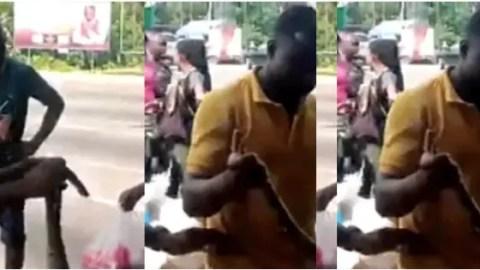 Video: Two Sakawa Boys Fight Kasoa Women For Killing Their Money Making Python