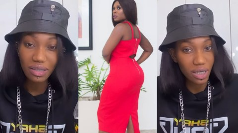 Wendy Shay Looks Like She Is High On A Substance – Netizens React To Wendy's Explanation On Why She Unfollowed Delay