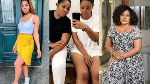 (+VIDEO) Regina Daniels Gifts Her Mother A Brand New Car Worth 15Million Naira