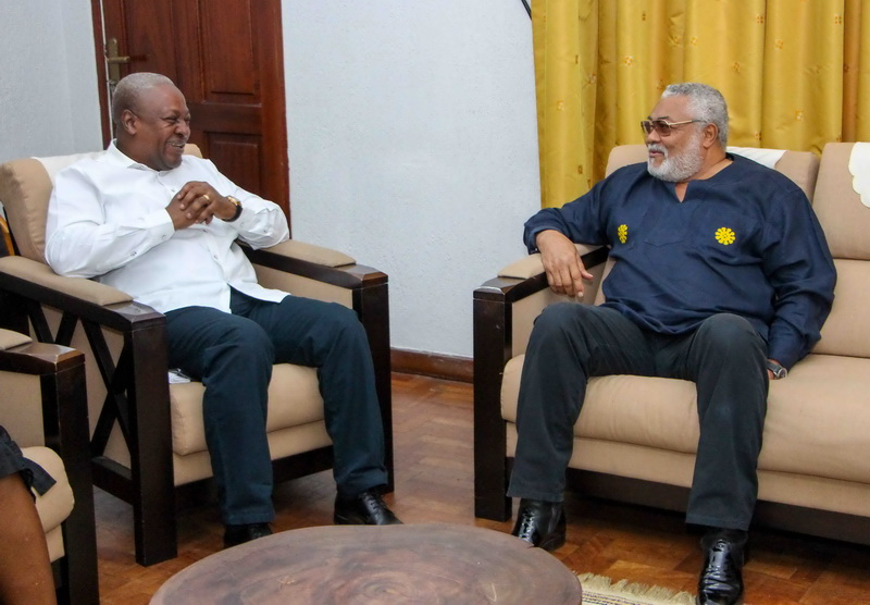 """""""You're unmatchable"""" – Mahama's tribute to Rawlings [Full Text]"""
